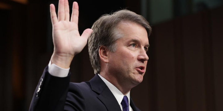 New Book Reveals Details Leading Up to Kavanaugh's Emotional Appearance
